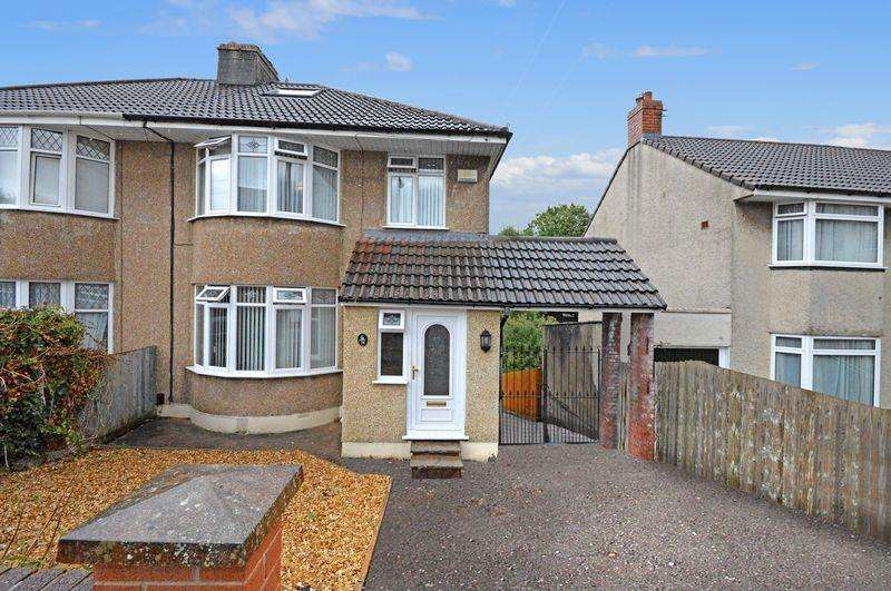 5 Bedrooms Semi Detached House for sale in Walnut Walk, Bristol