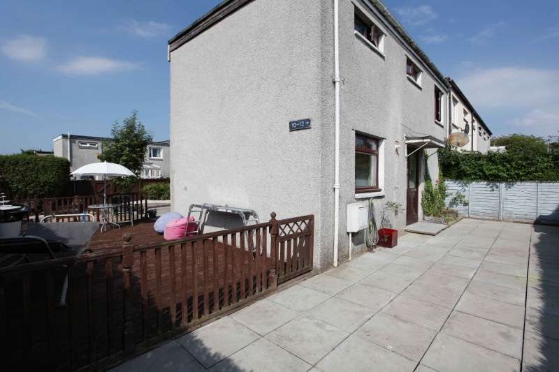 2 Bedrooms End Of Terrace House for sale in Haddington Crescent, Glenrothes, KY6 1LU