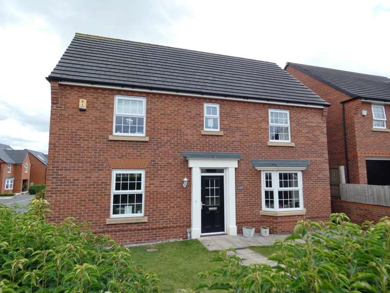4 Bedrooms Detached House for sale in Main Road, Higher Kinnerton, Flintshire, CH4