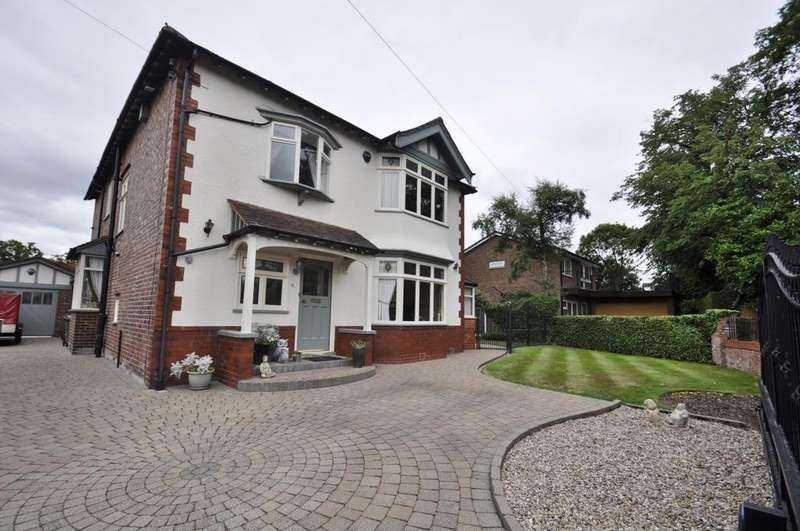 4 Bedrooms Detached House for sale in Linley Road, Cheadle Hulme,