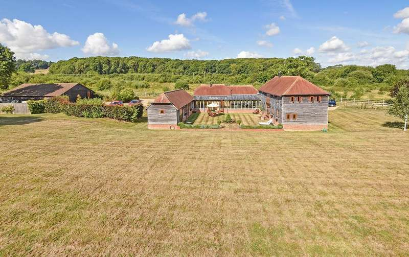 5 Bedrooms Barn Conversion Character Property for sale in Cray's Lane, Thakeham, West Sussex, RH20