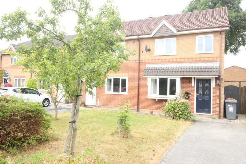 3 Bedrooms Semi Detached House for sale in St. Margarets Close, Ingol