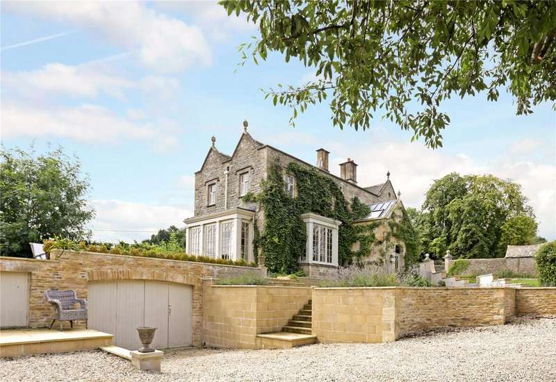 4 Bedrooms Detached House for sale in Brockhampton Park, Brockhampton, Cheltenham, Gloucestershire, GL54