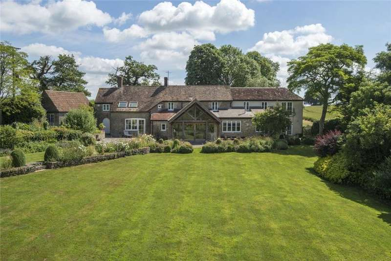 5 Bedrooms Detached House for sale in Holton, Wincanton, Somerset, BA9