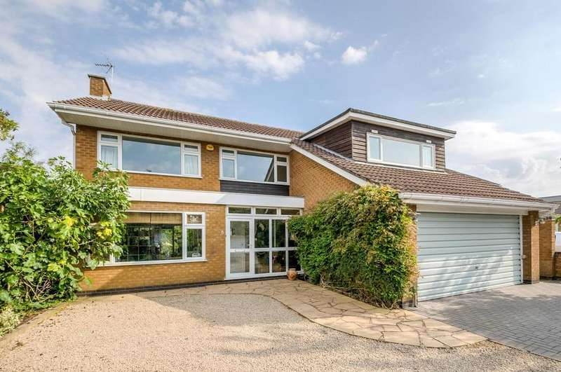 4 Bedrooms Detached House for sale in Meadow Close, Wolvey, Hinckley