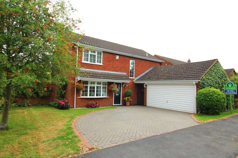 4 Bedrooms Detached House for sale in Rugby Road, Burbage, Hinckley, LE10