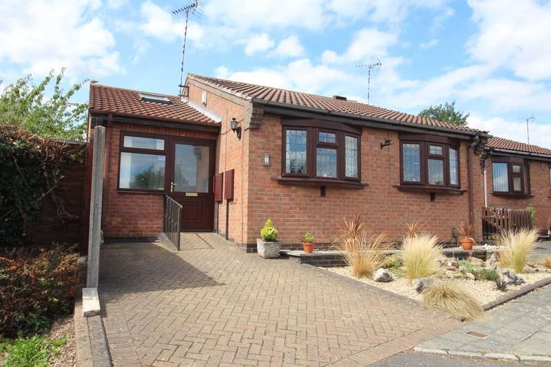 3 Bedrooms Detached Bungalow for sale in Willowdene Way, Barwell, Leicester, LE9