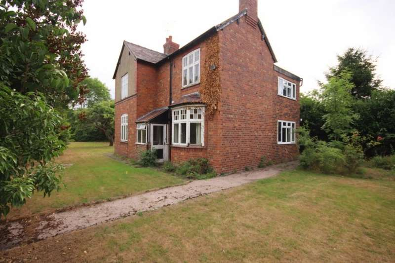 4 Bedrooms Detached House for sale in Oakleigh Marsh Lane, Edleston, Nantwich, CW5