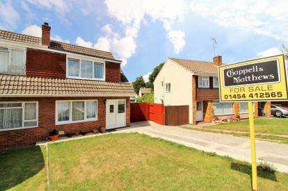 3 Bedrooms Semi Detached House for sale in Elmdale Crescent, Thornbury, Bristol, .