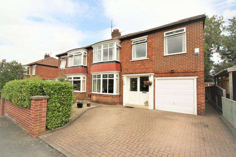 3 Bedrooms Semi Detached House for sale in Seamer Grove, Hartburn, Stockton, TS18 5AU