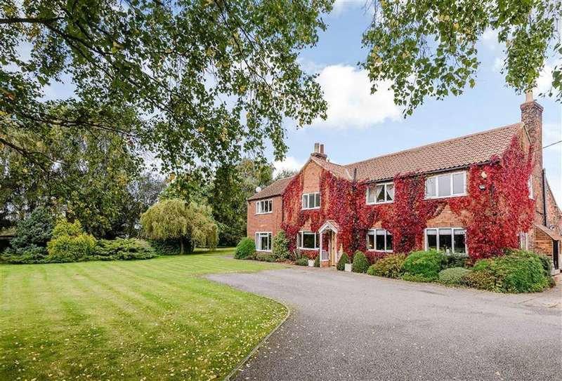 5 Bedrooms Detached House for sale in Fen Lane, Burton, Lincoln, Lincolnshire