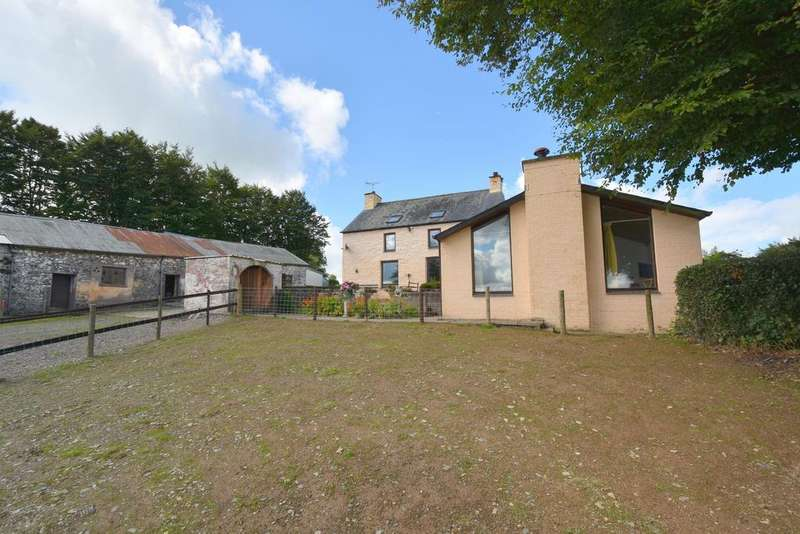 5 Bedrooms Smallholding Commercial for sale in Blwch Llan, Lampeter, Lampeter SA48