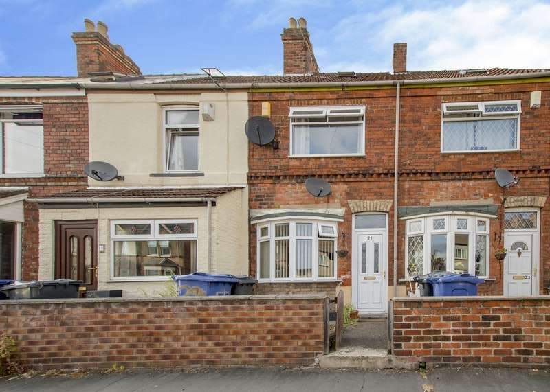 2 Bedrooms Terraced House for sale in Melrose Road, Gainsborough, Lincolnshire, DN21