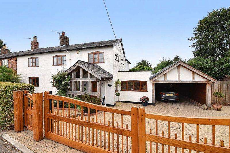 3 Bedrooms Cottage House for sale in Hoo Green Lane, Mere