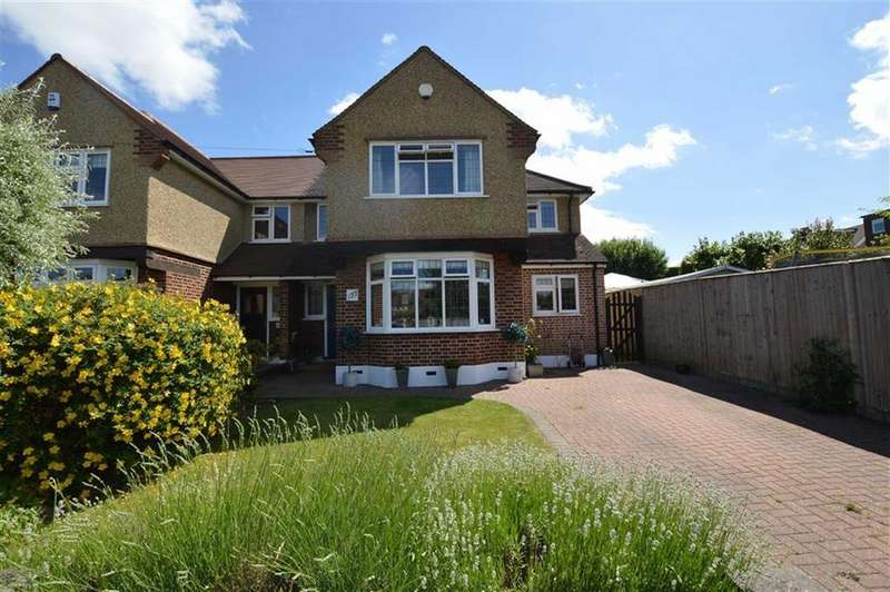 4 Bedrooms Semi Detached House for sale in Kenilworth Drive, Croxley Green, Rickmansworth Hertfordshire, WD3