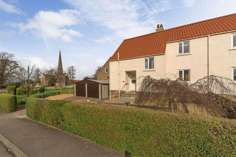 3 Bedrooms Semi Detached House for sale in 5 West Crescent, East Saltoun, Pencaitland, EH34 5EF