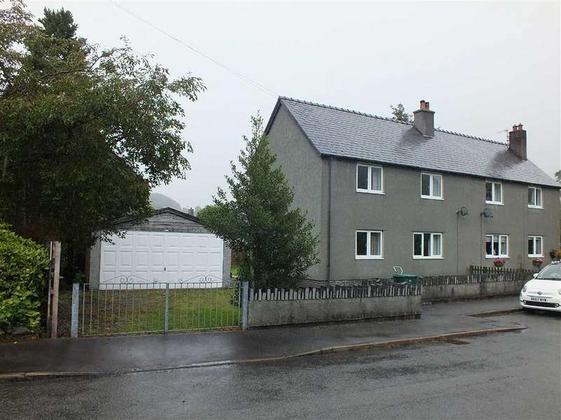 3 Bedrooms Semi Detached House for sale in Maes Y Llan, Dolwyddelan