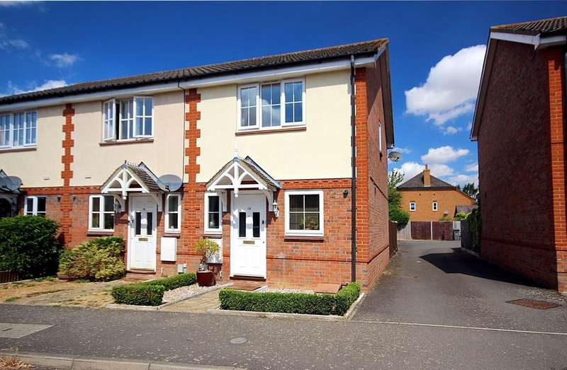 2 Bedrooms End Of Terrace House for sale in Chestnut Farm, Henlow, SG16