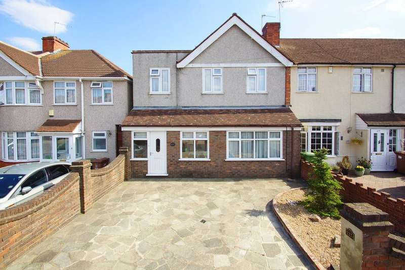 3 Bedrooms End Of Terrace House for sale in Montrose Avenue, Welling, DA16