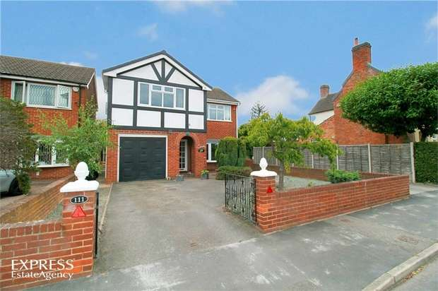 4 Bedrooms Detached House for sale in Main Street, Branston, Burton-on-Trent, Staffordshire
