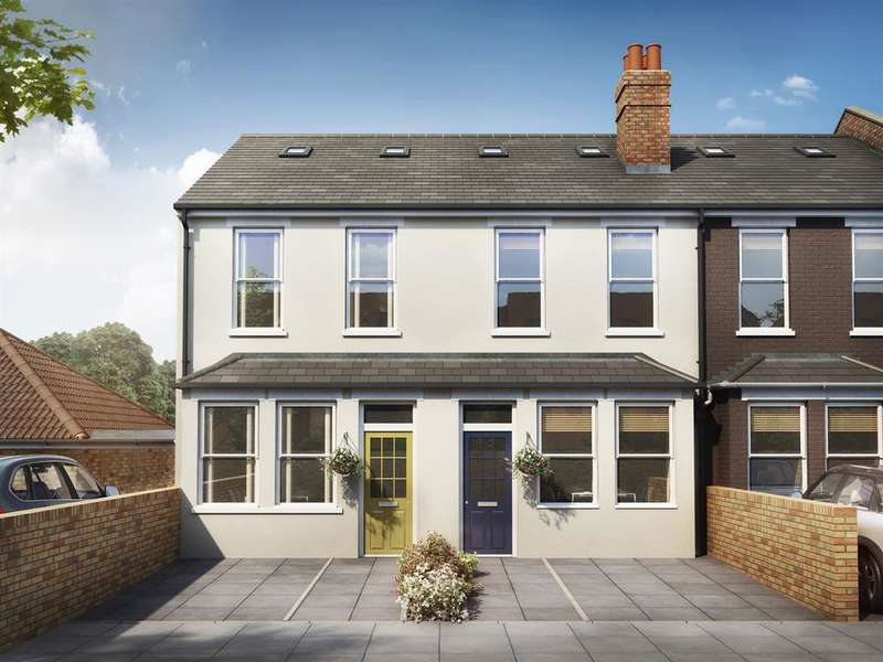 3 Bedrooms Terraced House for sale in Albany Road, Ealing, W13 8PQ
