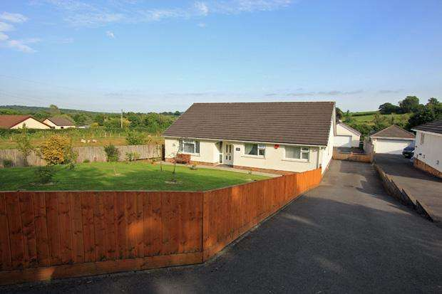 4 Bedrooms Detached Bungalow for sale in Mynyddcerrig, Nr. Cross Hands, Carmarthenshire