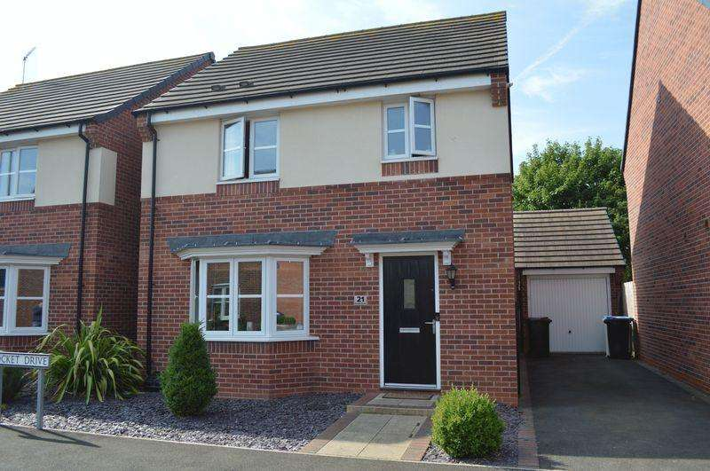 3 Bedrooms Detached House for sale in Rocket Drive, Hinckley