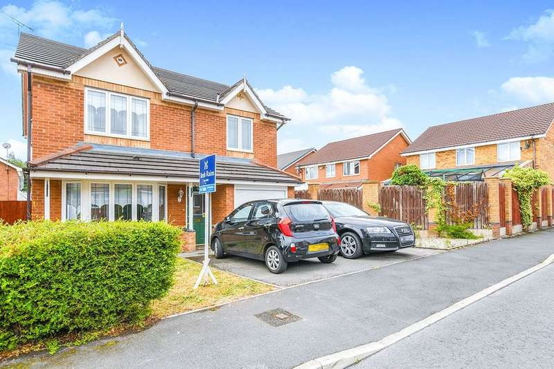 4 Bedrooms Detached House for sale in Greenwich Avenue, Widnes, WA8