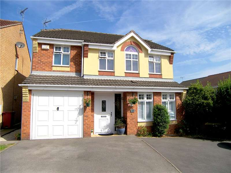 4 Bedrooms Detached House for sale in Rangewood Road, South Normanton, Alfreton, Derbyshire, DE55