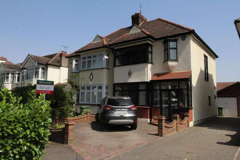 3 Bedrooms Semi Detached House for sale in Maple Avenue, Upminster, Essex, RM14