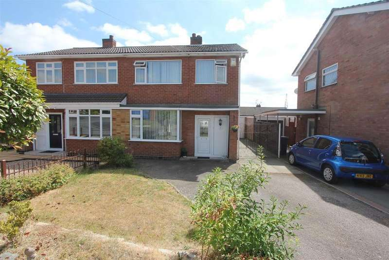 3 Bedrooms Semi Detached House for sale in Lundy Close, Hinckley
