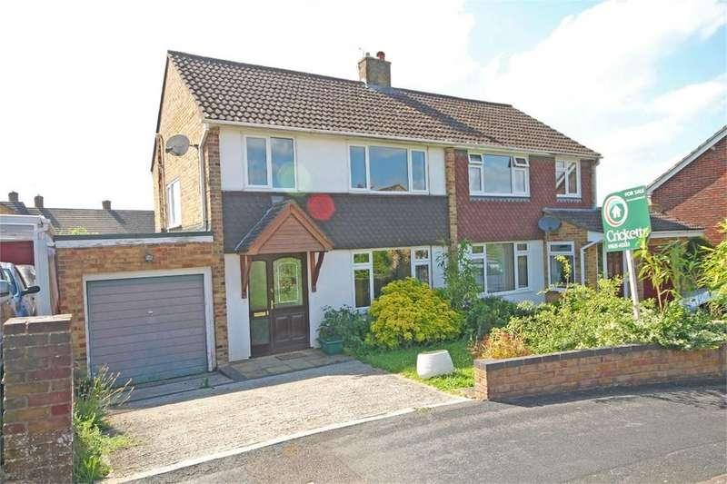 3 Bedrooms Semi Detached House for sale in King John Road, Kingsclere, NEWBURY, RG20