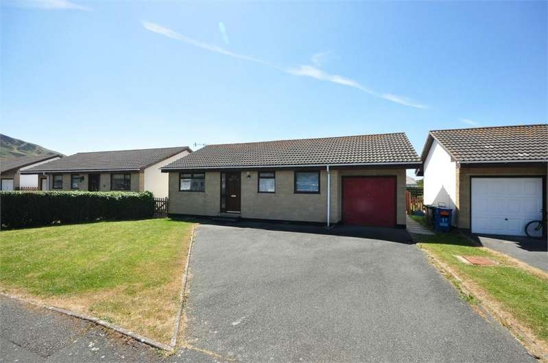 3 Bedrooms Detached Bungalow for sale in Heol Seithendre, Fairbourne, Gwynedd