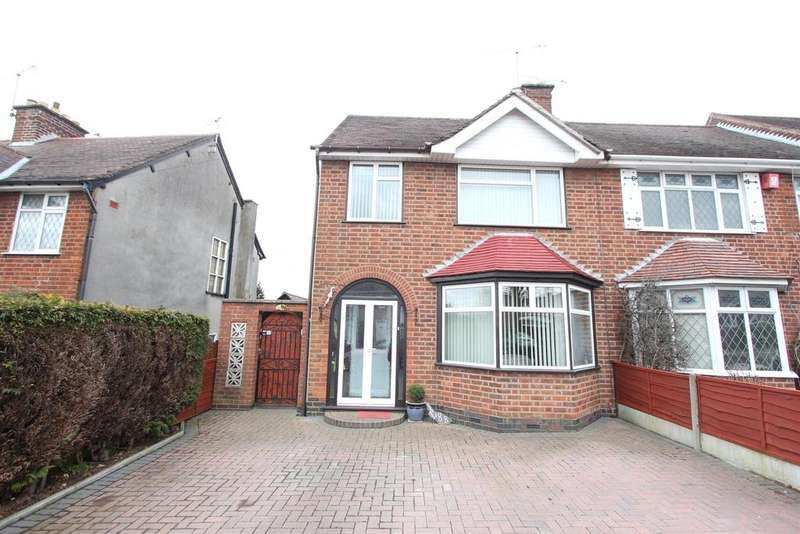 3 Bedrooms Semi Detached House for sale in Tudor Road, Hinckley