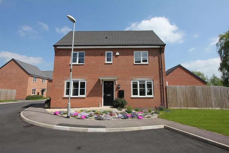 3 Bedrooms Detached House for sale in Navy Close, Burbage
