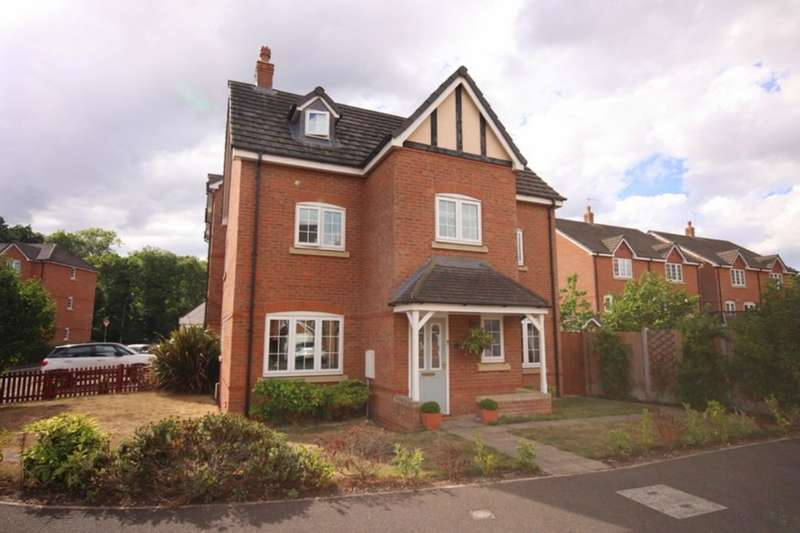 5 Bedrooms Detached House for sale in Williamson Drive, Nantwich, CW5