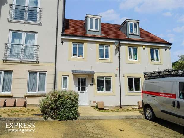 3 Bedrooms Town House for sale in Summit Close, Kingswood, Bristol, Gloucestershire