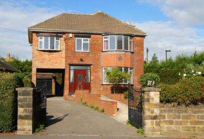 4 Bedrooms Detached House for sale in Bowman Drive, Sheffield, South Yorkshire