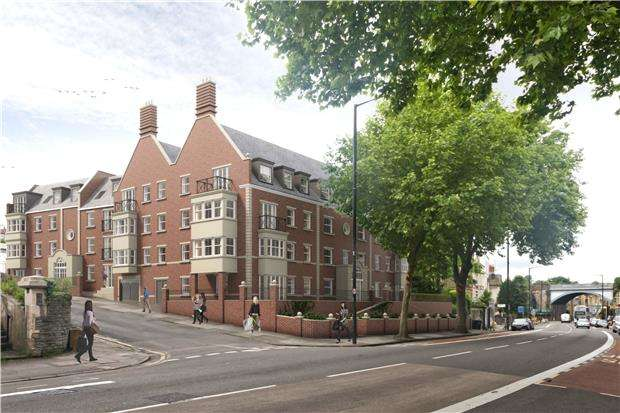 1 Bedroom Flat for sale in Plot 25 The Old Library, Cheltenham Road, BRISTOL, BS6 5QX
