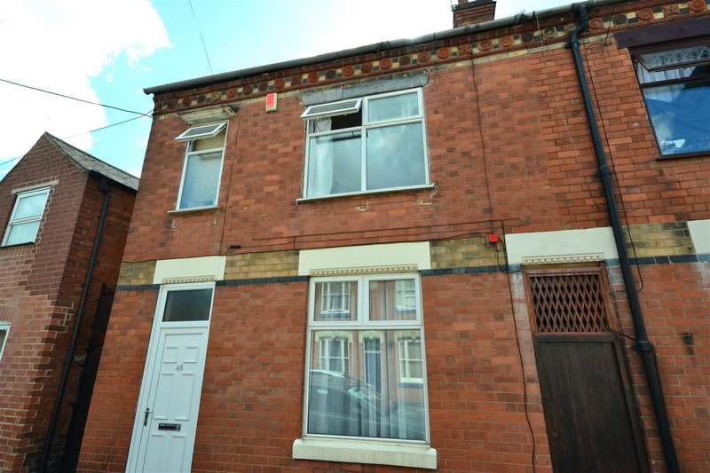 3 Bedrooms End Of Terrace House for sale in Bulwer Road, Clarendon Park, Leicester