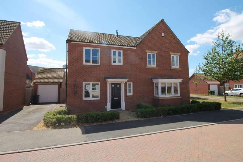 3 Bedrooms Semi Detached House for sale in Bridegroom Street, Market Harborough