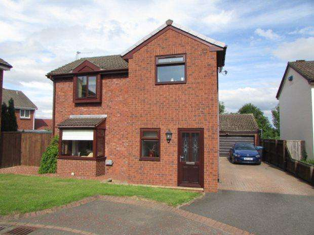 3 Bedrooms Detached House for sale in CLEVES COURT, FERRYHILL, SPENNYMOOR DISTRICT