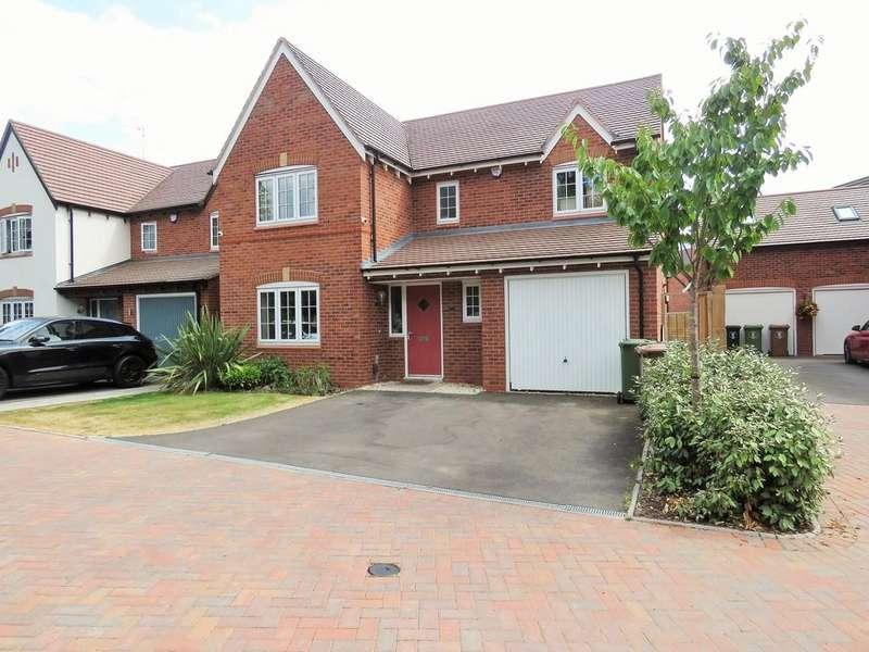 4 Bedrooms Detached House for sale in Beech Lane, Dickens Heath