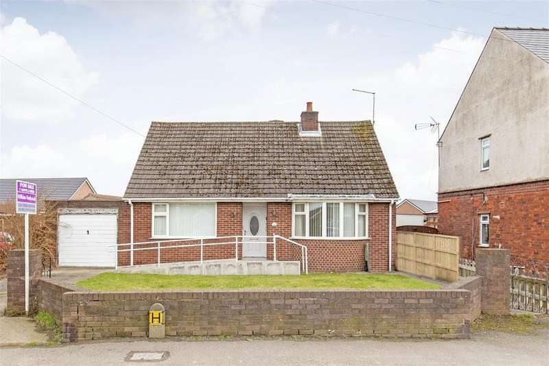 2 Bedrooms Detached Bungalow for sale in Chesterfield Road, North Wingfield, Chesterfield