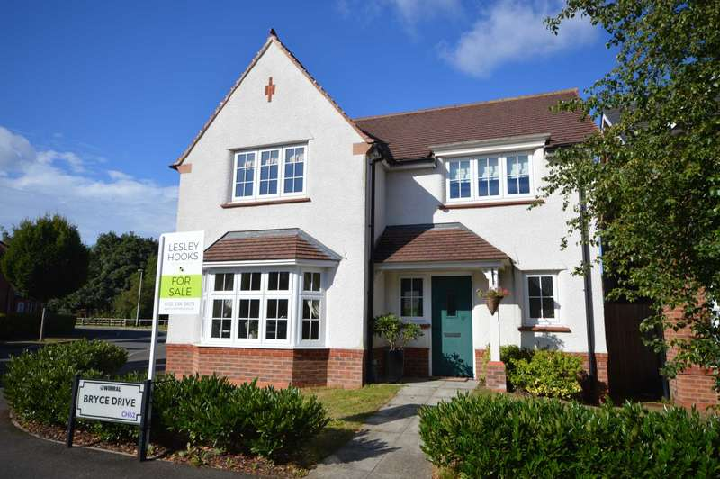 4 Bedrooms Detached House for sale in Bryce Drive, Bromborough