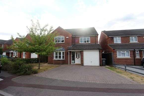 4 Bedrooms Detached House for sale in Bridgemere Close, Leicester