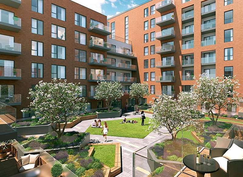 2 Bedrooms Apartment Flat for sale in Queenscroft House, Colindale Gardens, London, NW9