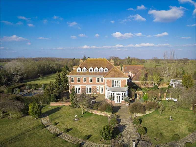 9 Bedrooms Detached House for sale in Stebbing Hall, Lubberhedges Lane, Stebbing, Great Dunmow, Essex, CM6