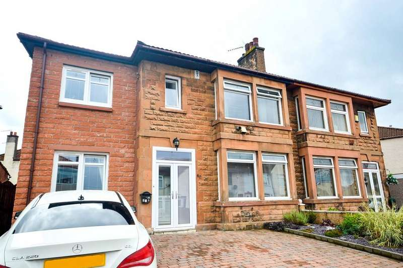 4 Bedrooms Semi Detached House for sale in Millburn Avenue, Clydebank, G81 1ER