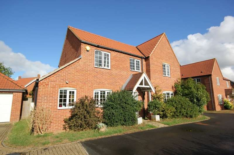 4 Bedrooms Detached House for sale in Peregrine Mews, Cringleford, Norwich, NR4